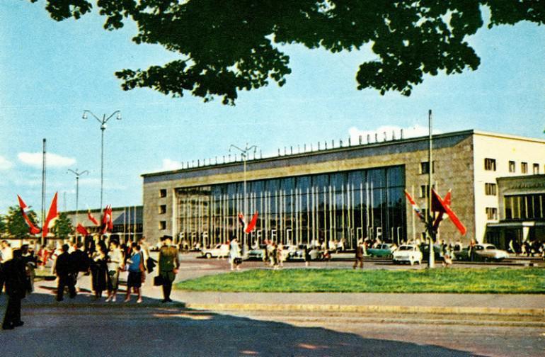 Centrālā stacija 1962 gads Autors: NavLV Rīga pirms 50 gadiem 1. daļa
