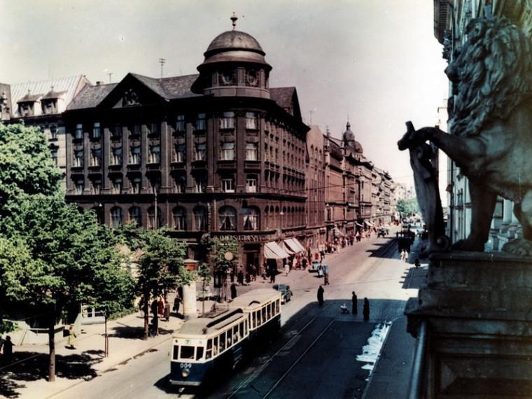Kr Barona iela 1960 gads Autors: NavLV Rīga pirms 50 gadiem 1. daļa
