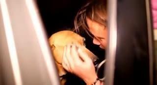Tur suņi cīnījās maizes gabala... Autors: Razam4iks Viņa gribēja izglābt tikai dažus suņus, bet tad viņas plāni krasi mainījās.