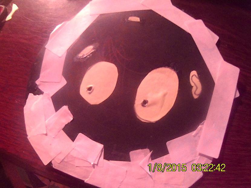 Es aizmirsu piebilst ka acis... Autors: Fosilija Paštaisīts spoku peles paliktnis!!
