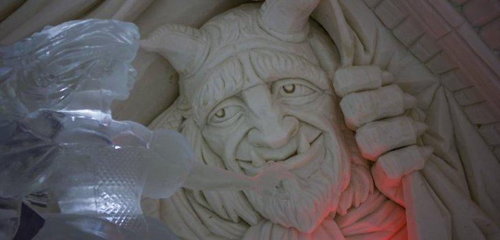 Autors: Fosilija Sniega un ledus skulptūras