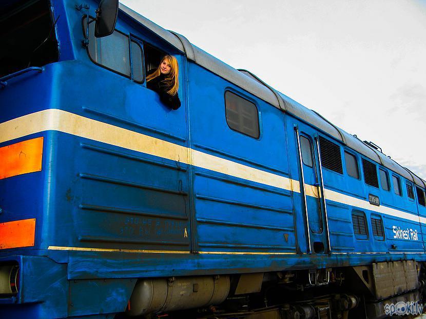 Bildē  Skinest Rail Igaunijas... Autors: xDrive_Unlimited 2TE116 Dīzeļlokomotīves