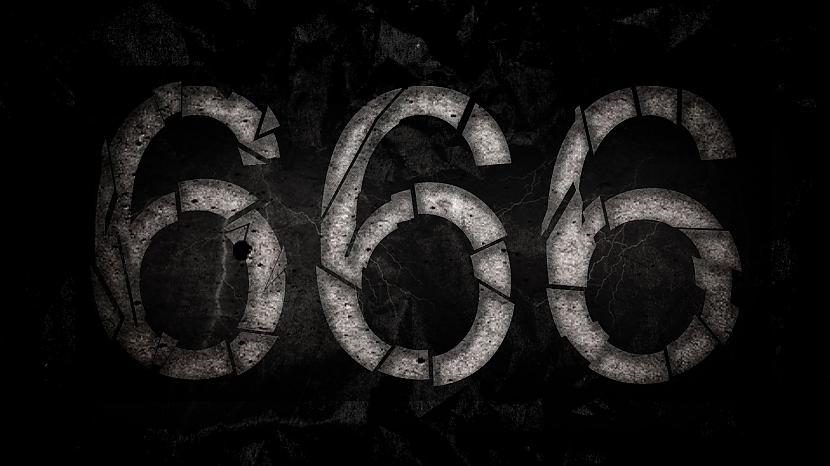 Mūsshydieshynās ir... Autors: weSTqoodbeep Sātana skaitlis jeb 666. Kāpēc?