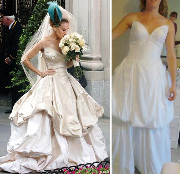 Kāzu kleitu tagad jāpērk... Autors: Longbordiste Preces no ebay ! Iedomas pret realitāti!