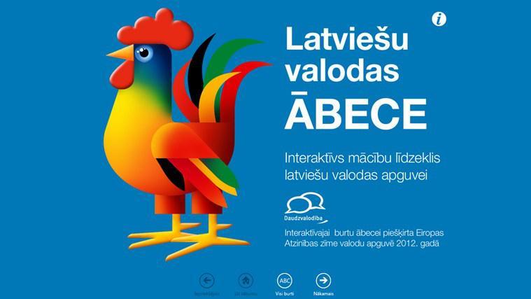2ĀBECEJūsu bērnam patīk... Autors: ShadowApollo TOP 10 Latvijā veidotās Windows 8 programmas