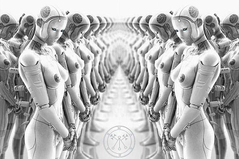 OTRAIS Ar atstāto ķermeņu un... Autors: M4R3X Par robotizētajām būtībām un planētas ēnu valdību 2.