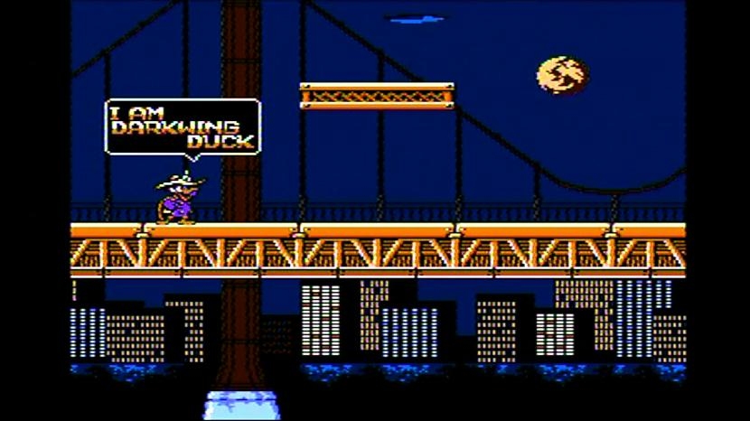 Spēles pamatā ir pīļu pilsēta... Autors: Bitzgame Izietās retro spēles - Darkwing duck