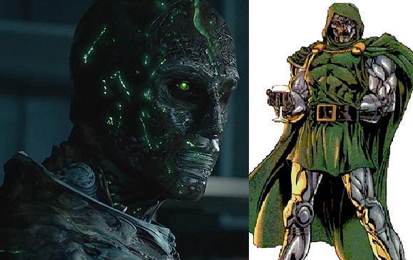 Doctor DoomKritiķu prāt abas... Autors: Agresīvais hakeris 5 supervaroņi, kuru izskats filmās krasi atšķiras no komiksiem! (1. daļa)
