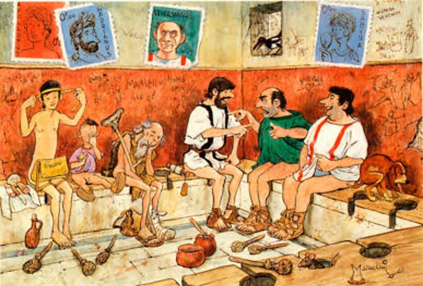 Par nelielu samaksu romietis... Autors: KXoP No krūmiņiem līdz tualetei