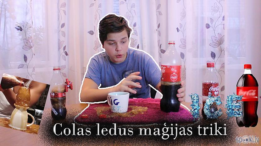 Autors: kerchannel Crazy ledus maģija ar Coca cola!