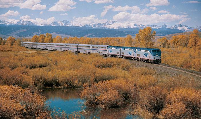 Scaronie vilcieni ir kā... Autors: bananchik Šķērsojam Ameriku ar vilcienu