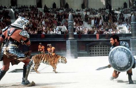 Pirmās ainas sniegs patiesībā... Autors: kaķūns Interesanti par leģendāro filmu ''Gladiators''