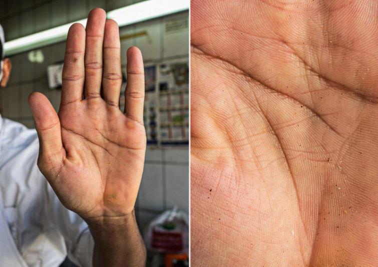 Maiznieks Autors: matilde Fotogrāfs, kurš atrāda dažādu cilvēku profesijas caur viņu rokām