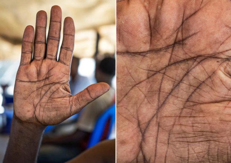 Autovadītājs Autors: matilde Fotogrāfs, kurš atrāda dažādu cilvēku profesijas caur viņu rokām