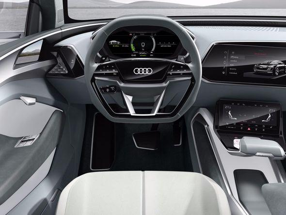 etron Sportback ir jau otrais... Autors: The Next Tech Audi piedāvā elektrisko bezceļņieku - Teslas konkurentu