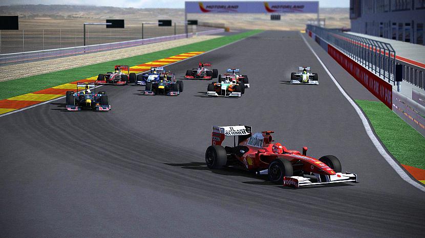Spānijas GP starts Autors: Fosilija F1LAND Simracing čempionāta pirmie posmi