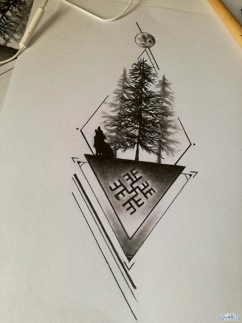 Te nu tāds mazs tattoo... Autors: LaDeKi ''Lielā'' mākslas paka