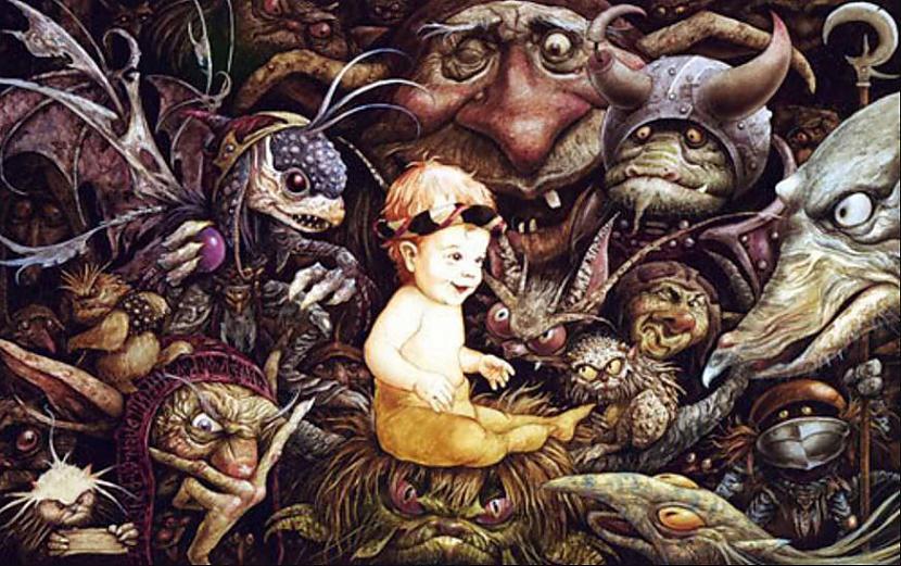 """Par goblinu radītāju nedaudz... Autors: Lestets 9 lietas, ko nezināji par filmu """"Labirints"""""""