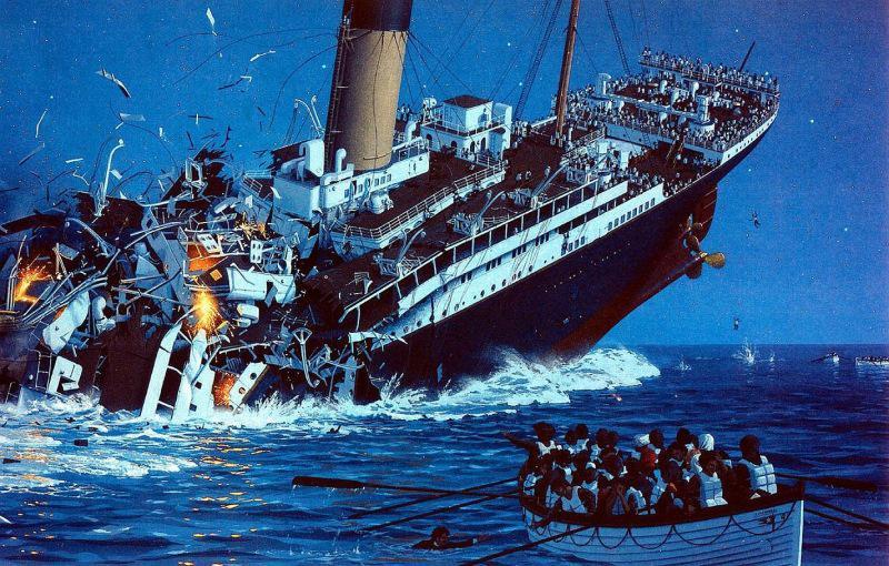 """Uguns ietekmē kuģa nodalījumā... Autors: theFOUR Jauni fakti par """"Titānika"""" bojāeju."""