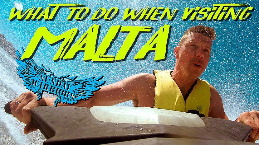 Ja arī tev ir savs... Autors: The Travel Snap Ūdens prieki Maltas krastos!