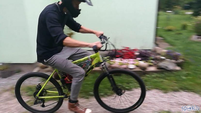 Autors: Konītis Paštaisīts Elektro-velosipēds. (Video)