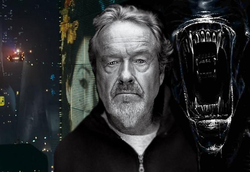 Ridlijs SkotsViņa scaronedevrs... Autors: Lestets Holivudas producenti un viņu NLO apsēstība