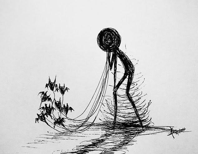 Autors: Dindinja Vienkārši, tomēr jēgpilni zīmējumi.