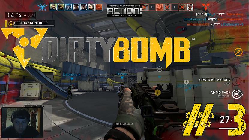 Autors: Aldis Pugacs2 Dirty Bomb Gameplay (PiparsTV) #3