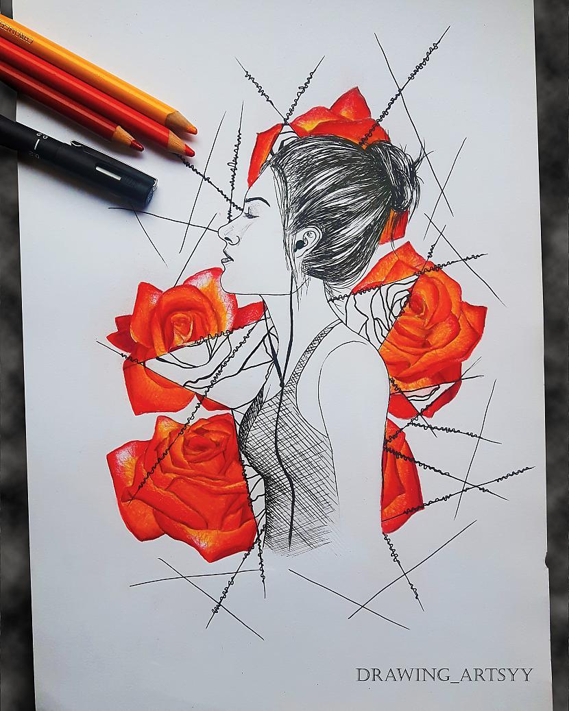 Autors: rakstiins Ko es zīmēju savos 15 gados