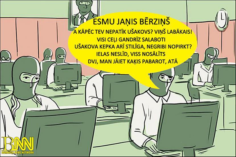 Autors: Bumbišķi News Network Ušakova troļļi!