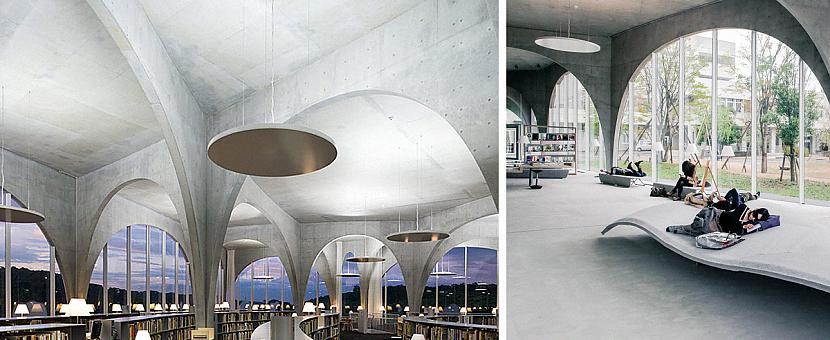 Tama Mākslas Universitātes... Autors: matilde 13 skaistākās bibliotēkas pasaulē, kas būtu jāapmeklē katram grāmatu mīlim