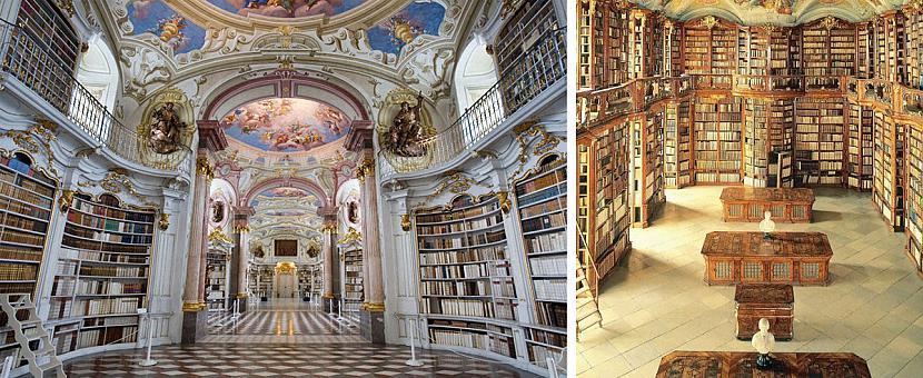 Admontas Abatija bibliotēka... Autors: matilde 13 skaistākās bibliotēkas pasaulē, kas būtu jāapmeklē katram grāmatu mīlim