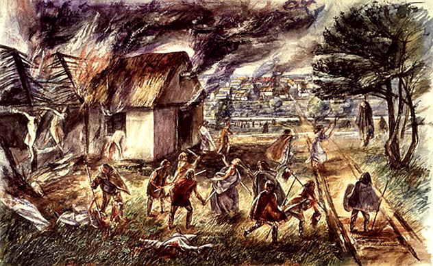 Tas nebija pirmais Lielais... Autors: Plane Crash central Pārsteidzoši fakti par Lielo Londonas ugunsgrēku 1666. gadā