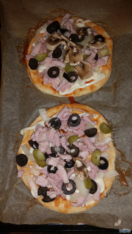 Var pagatavot mini piciņas ņam Autors: aniii7 Rauga mīkla ar sauso raugu