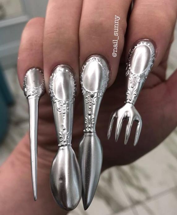 Autors: matilde 16 šausmīgi nagu dizaini, kuru dēļ vēlēsies izdurt sev acis