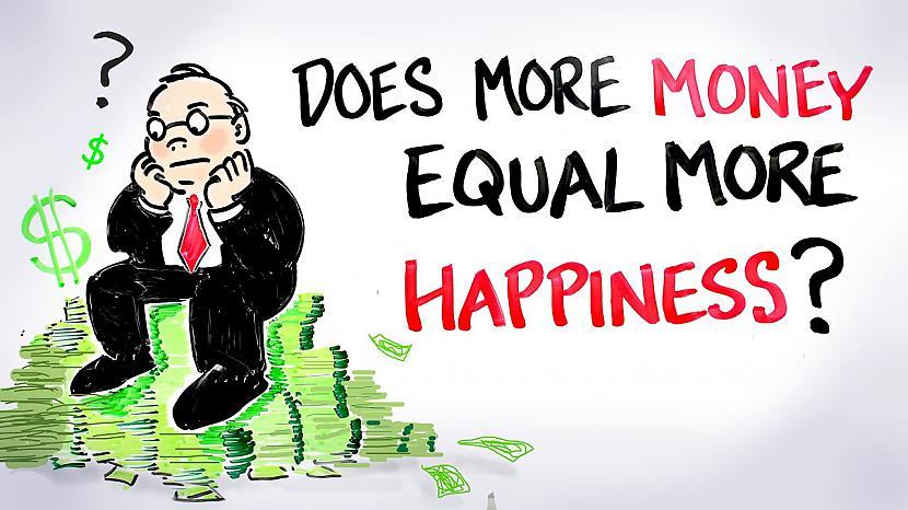 Autors: Dindinja Vai laime ir atrodama finansiālajā labklājībā?