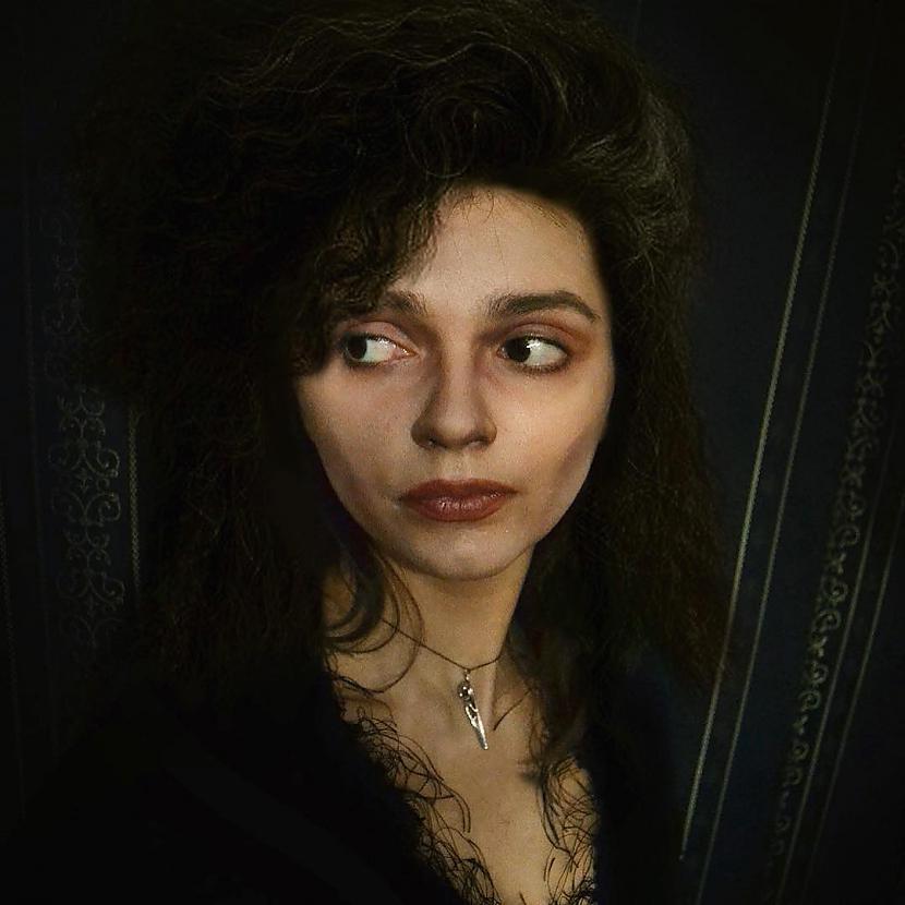 Bellatrisa Svescaronovska no... Autors: Latvian Revenger Šī kospleijere ir īsts EMULATORS