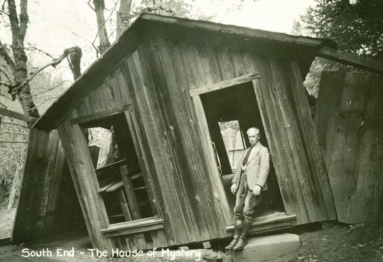 Autors: Lestets Oregonas virpulis - vieta, kur gravitācija izspēlē jokus
