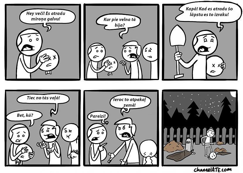 Autors: Bezjēdzīgais Channelate komiksi #5