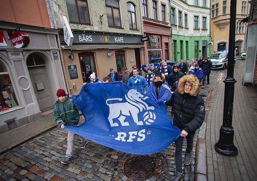 Autors: Zhorchx FK RFS fanu kluba atklāšanas gājiens par godu Latvijas virslīgas sākumam