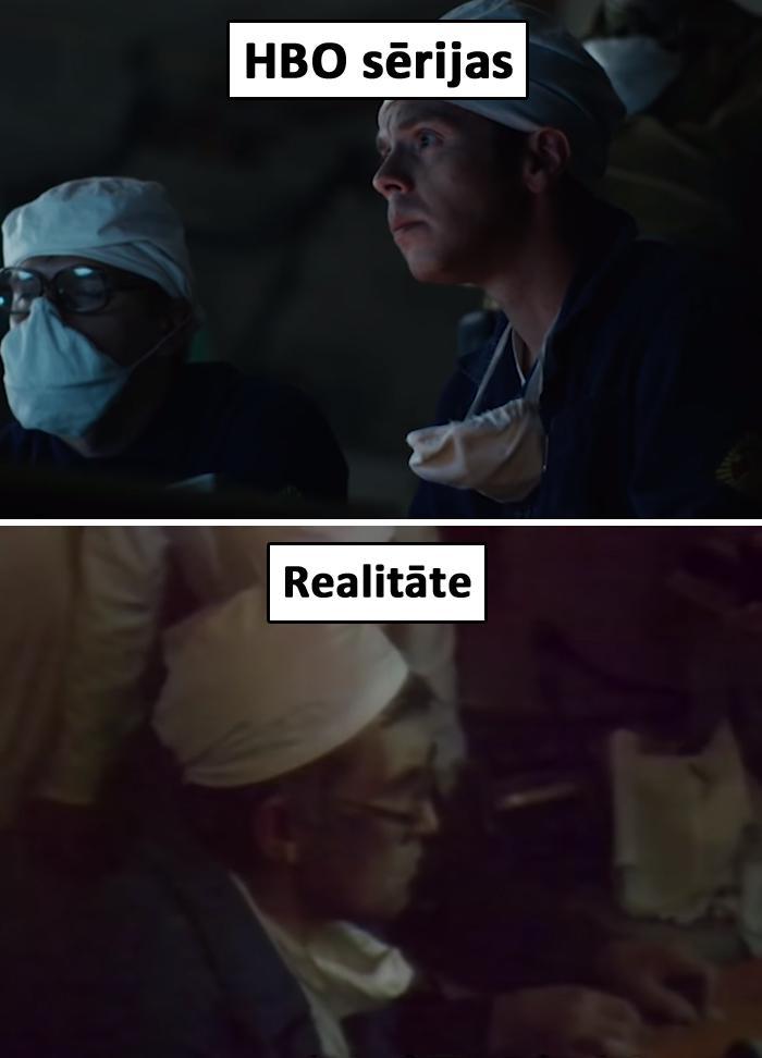 Autors: matilde Salīdzinājums starp patieso Černobiļu un to Černobiļu, kas redzama«HBO» sērijās