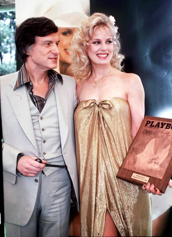 Arī Hjū Hefners scaronajā... Autors: Fosilija Dorotija Stratena. Neticamā Holivudas veiksmes stāsta traģiskās beigas