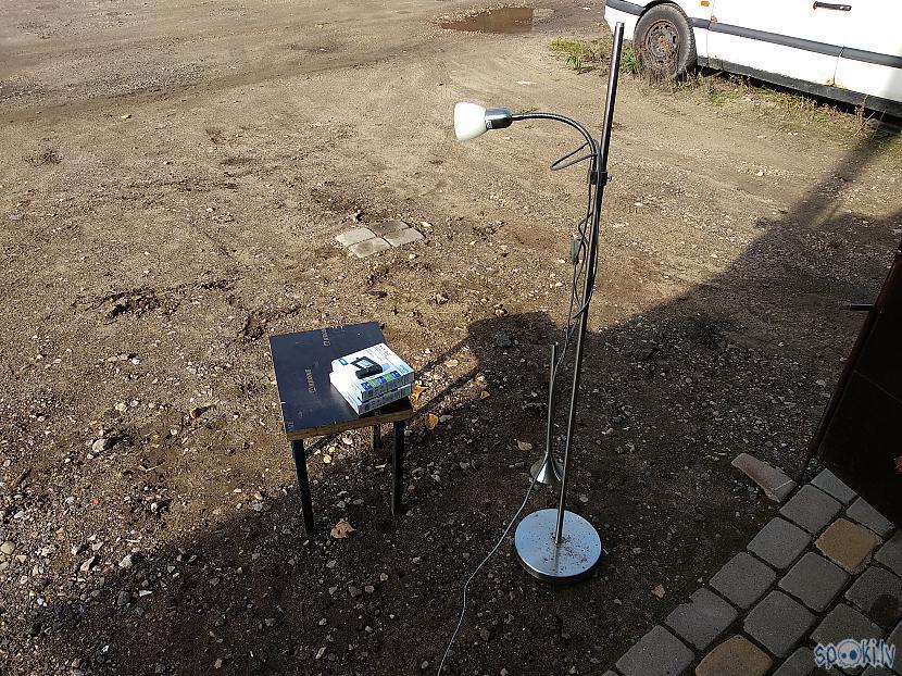Tāda tā lampa izskatījās... Autors: 76martini Dodam otru dzīvību vecai stāvlampai