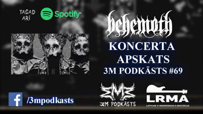 Autors: mmmpodcast Kā skan pasaules populārākā sātaniskākā grupa? BEHEMOTH Koncerta Apskats