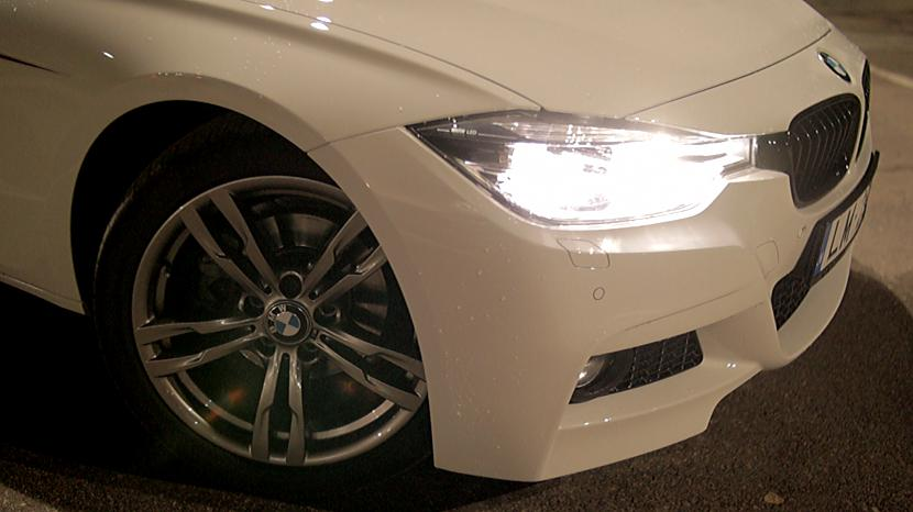 Autors: MyPlace Alpine White BMW F30 Mperformance