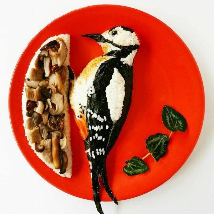 Autors: Fosilija Pārtikas māksla: 30 gleznas, ko ēst