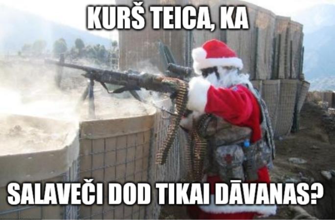 Salavecis terorists Autors: DarkAngel Memītes par Ziemiņsvētku tuvošanos 2.daļa (20 memes)