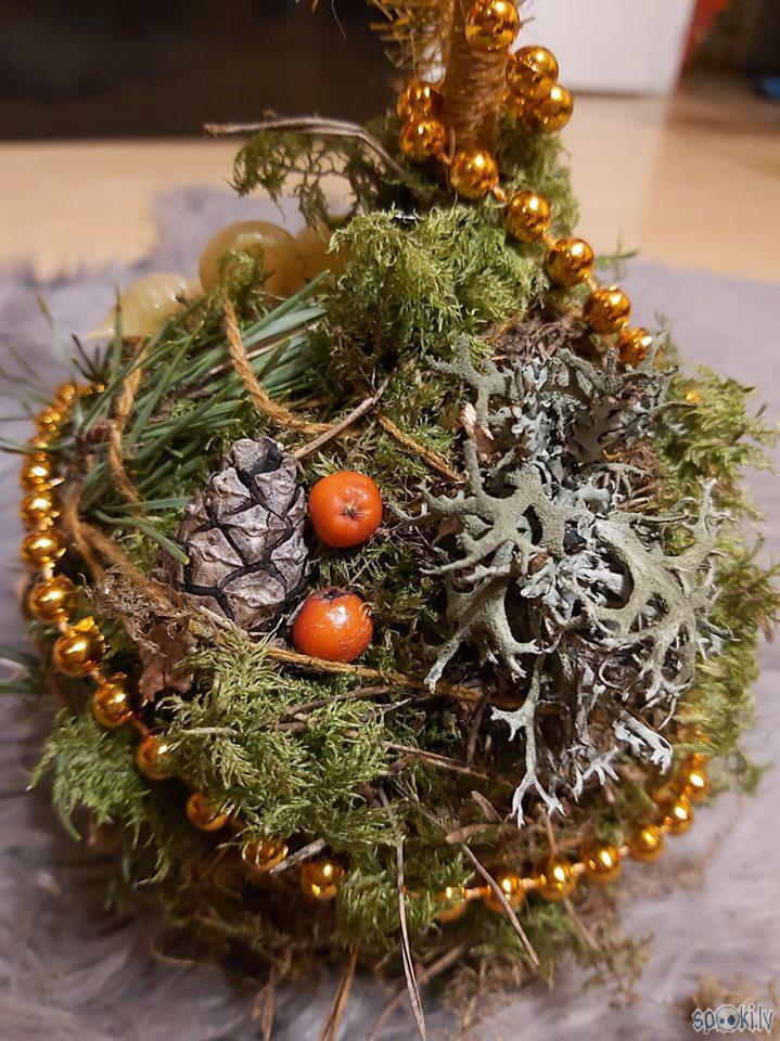 Čiekurs pīlādžogas un ķērpis... Autors: The Diāna Ziemassvētku svečturis paša spēkiem