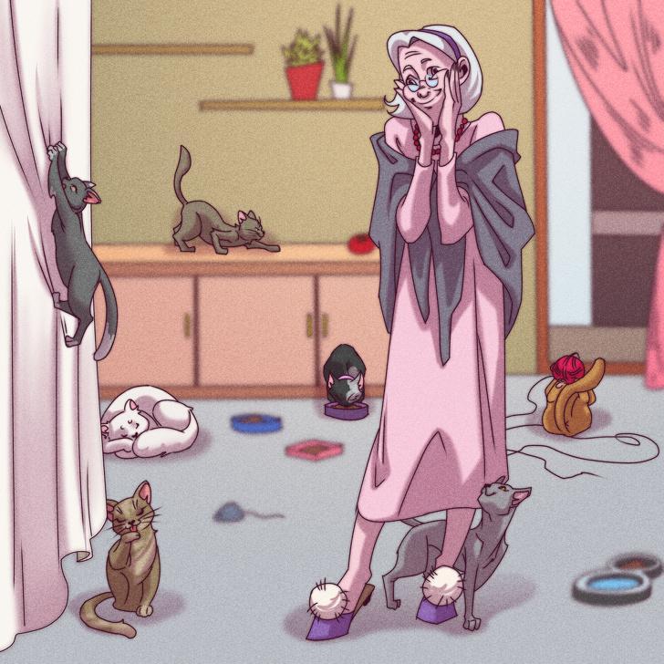 Kaimiņscaron laquoDzīvnieku... Autors: matilde 16 kaimiņu veidi, kas ir sastopami katrā daudzdzīvokļu namā