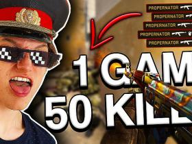 CS:GO - 50 Kills in 1 Game